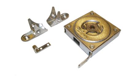 Technické kreslenie - Pružiny s konštantnou silou v kovovej škatuli