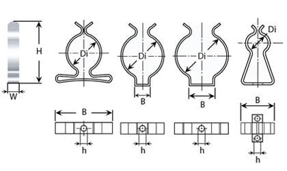 Technické kreslenie - Držiaky na nástroje